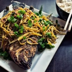 crispy fried tilapia ginger fish