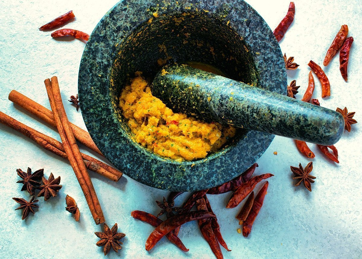 Cambodian red kroeung for Cambodian curry