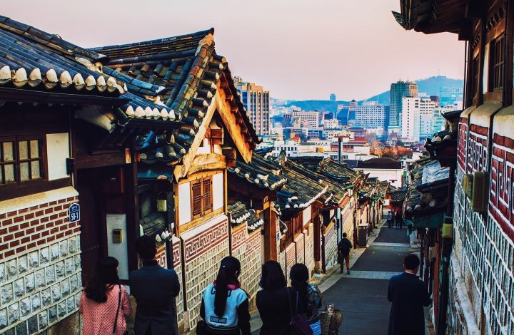 Bukchon Hanok Village Seoul South Korea