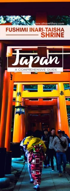 Travel Guide to Fushimi Inari Shrine Kyoto Japan