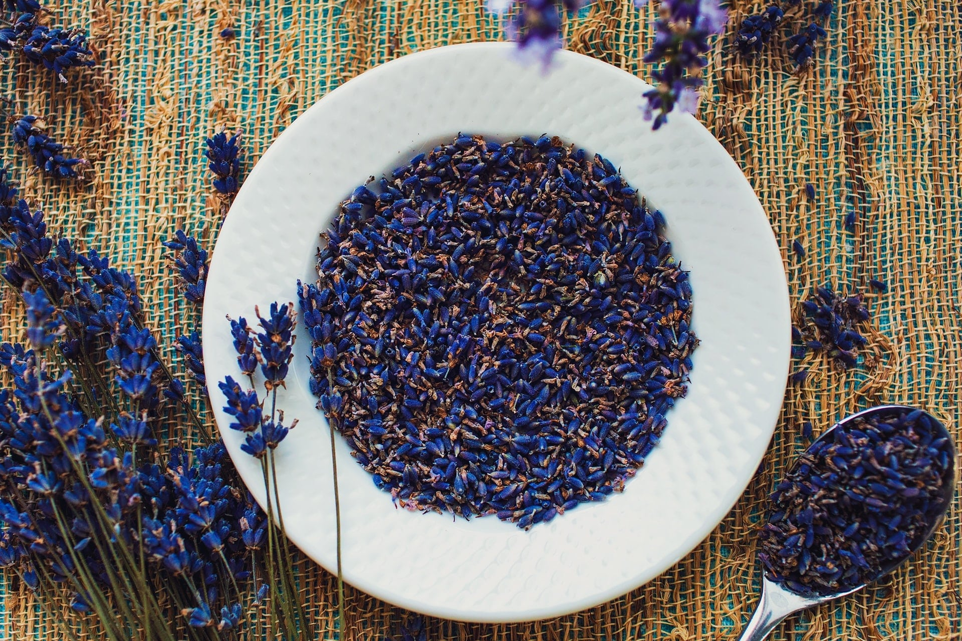 lavender flowers for lavender simple syrup