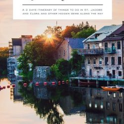 Discover the best top things to do in St. Jacobs and Elora. Explore the most beautiful town in Ontario, Elora, and the famous St. Jacobs Farmers' Market.