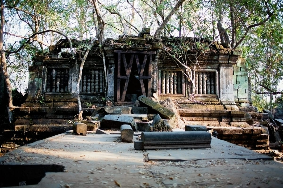 Beng Mealea ruin of ancient Angkor temple complex