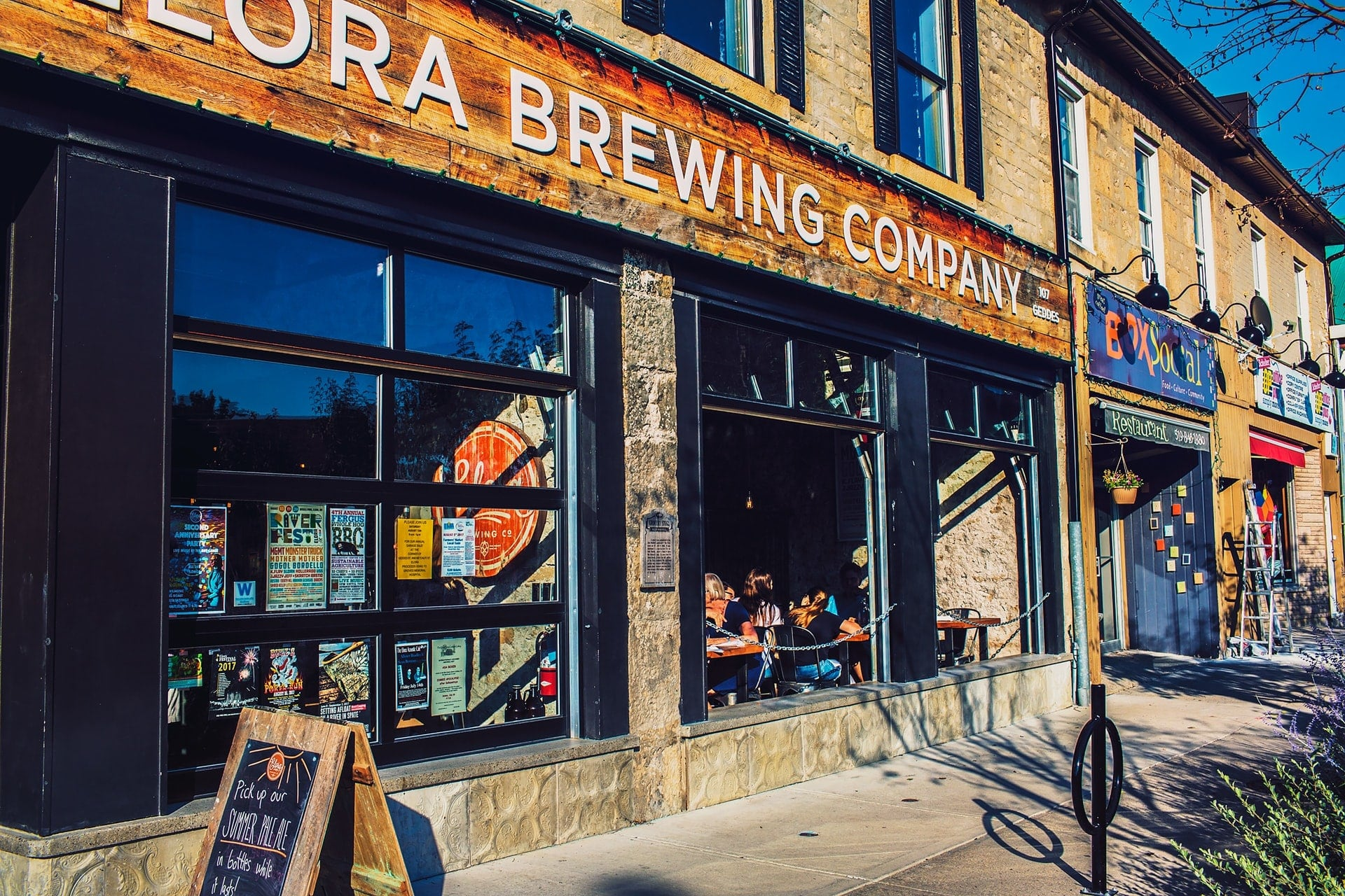 Elora Brewing Company Bar and Eatery