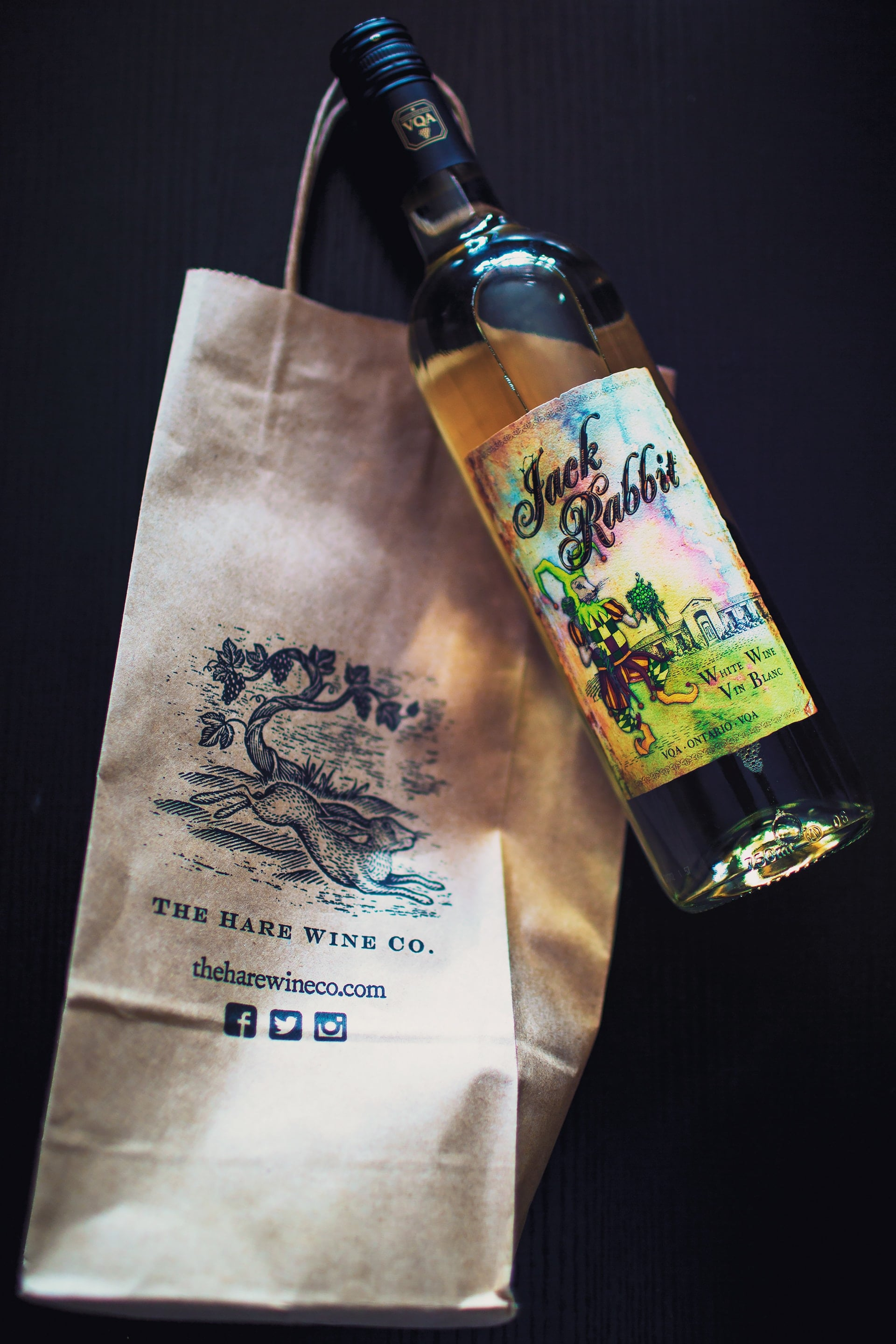 Jack Rabbit win from the Hare Wine Co