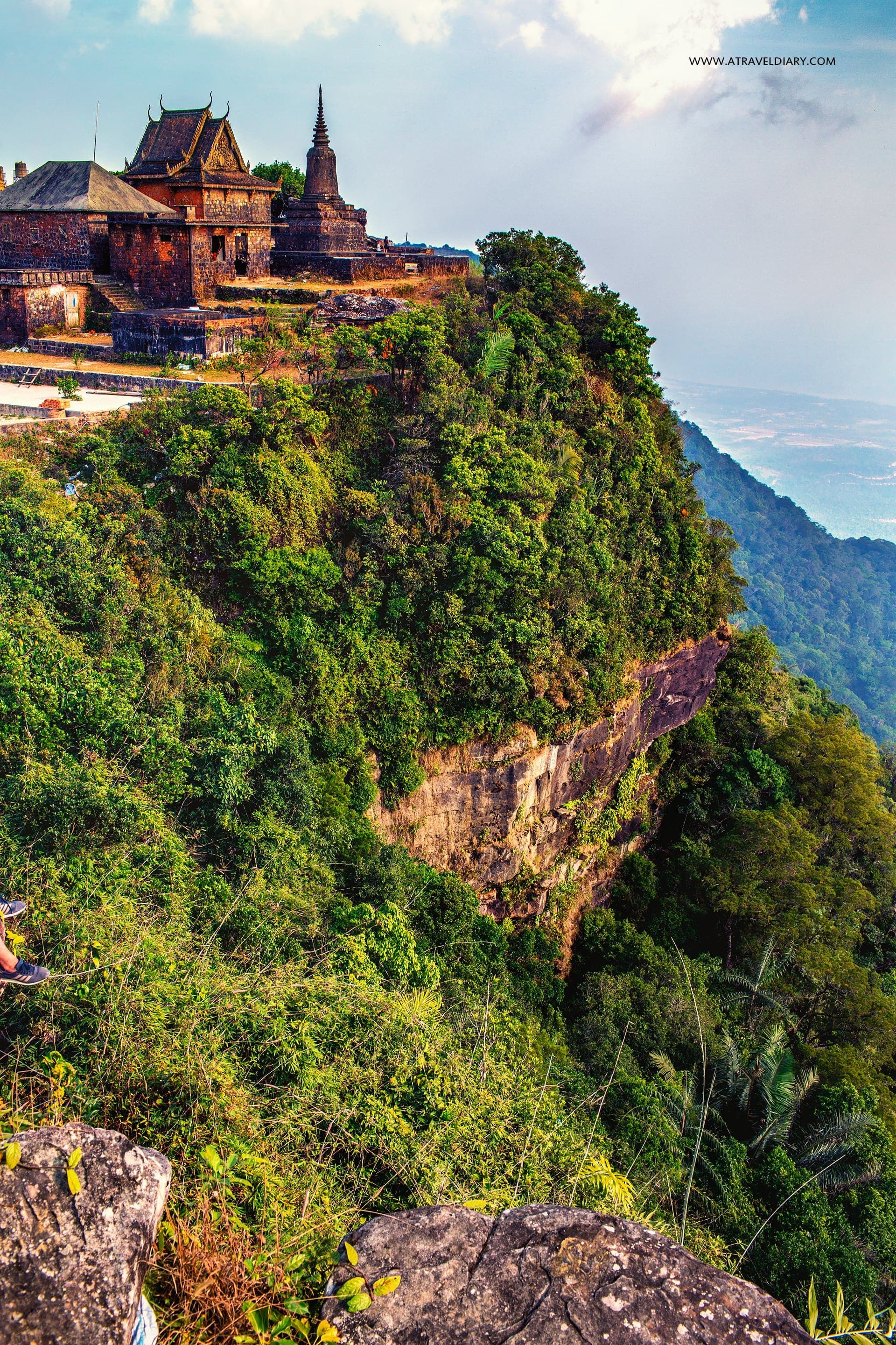 Outtyeancheat Preah Monivong Bokor or Phnom Bokor National Park Kampot Cambodia