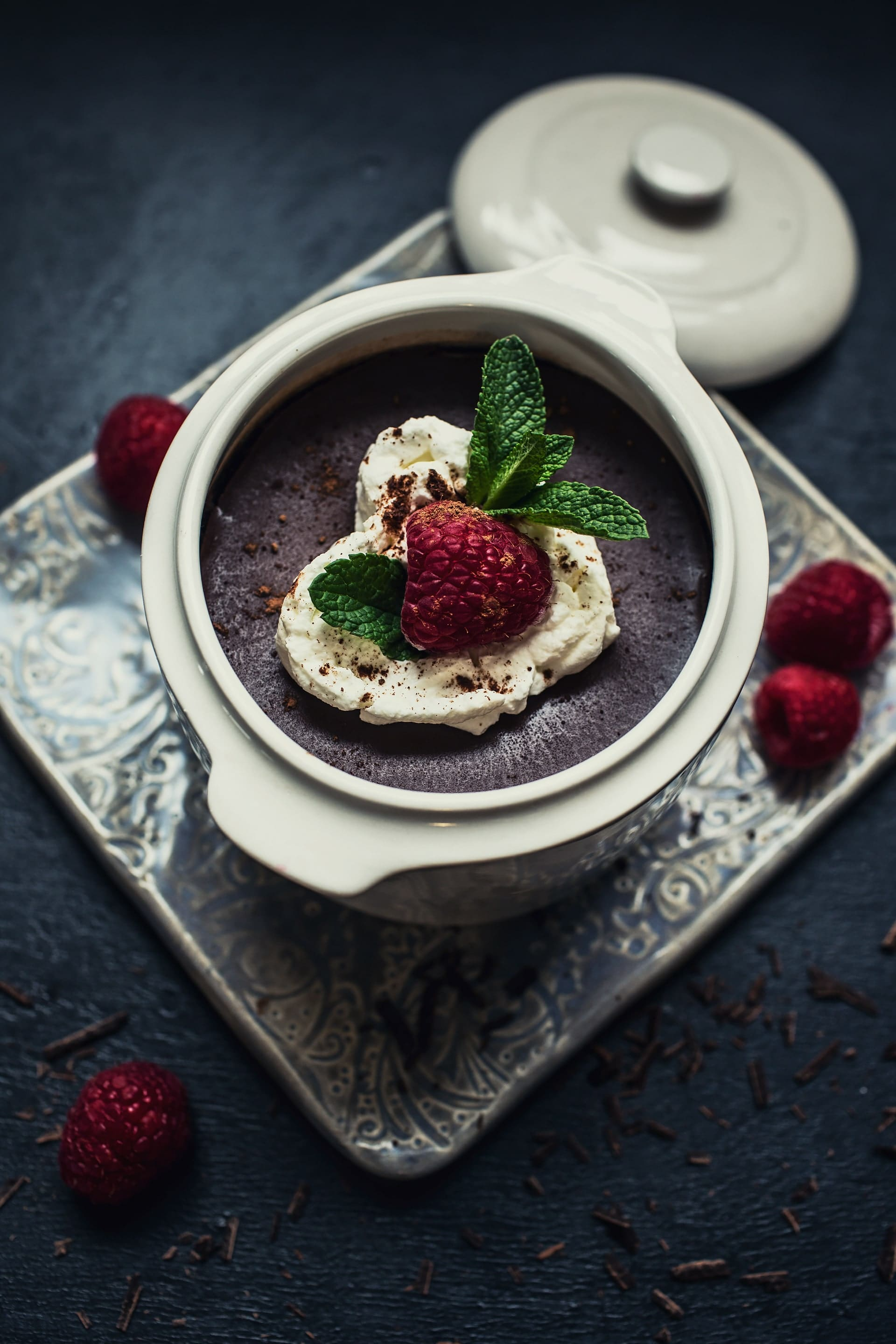 Chocolate Pots De Creme Recipe for Valentines Day