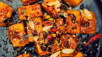 Spicy Tofu | Japanese Inspired Spicy Tofu Recipe